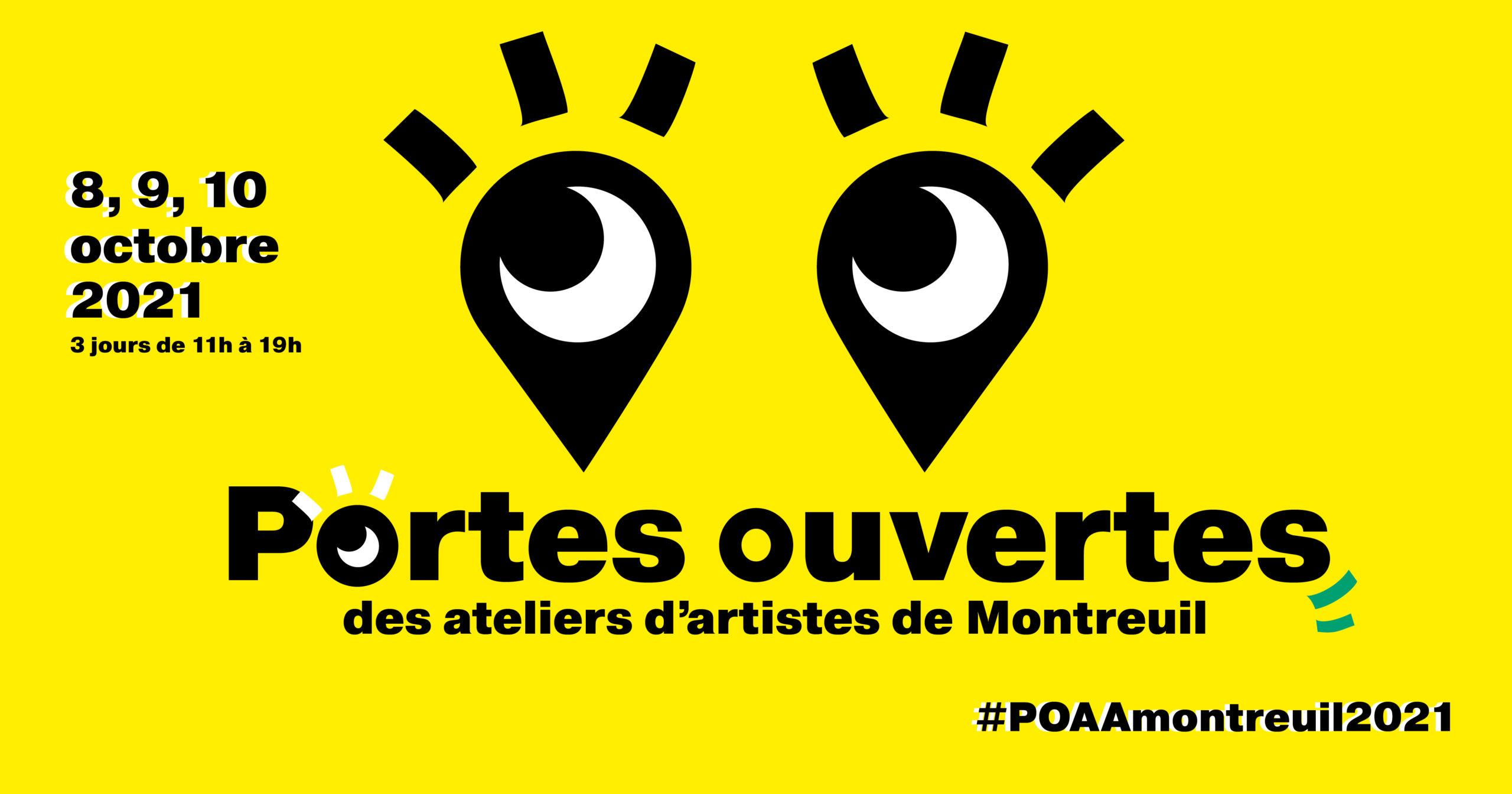 Portes Ouvertes des Ateliers d'Artistes à Montreuil