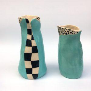"""""""Les Oiseaux"""" vases-carafes"""